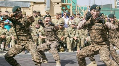 Монгольские военнослужащие в Афганистане