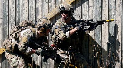 Солдаты армии США на учениях в Германии. Архивное фото