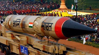Индийская баллистическая ракета