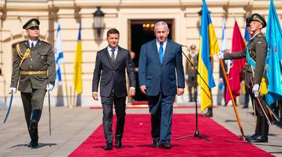 Встреча Владимира Зеленского и Биньямина Нетаньяху