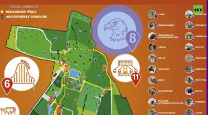 Игра в ассоциации: в Германии закрыли аттракцион «Полёт орла» из-за сходства со свастикой