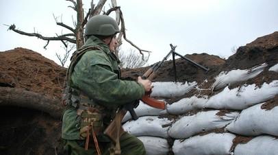 В ДНР заявили об обстреле Горловки из миномётов