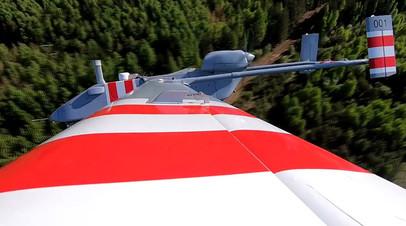 «Форпост-Р» во время первого полёта