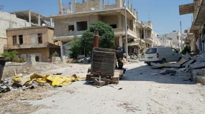Правительственные войска Сирии освободили от террористов север Хамы