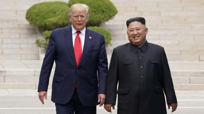 Трамп заявил о возможности новой встречи с Ким Чен Ыном
