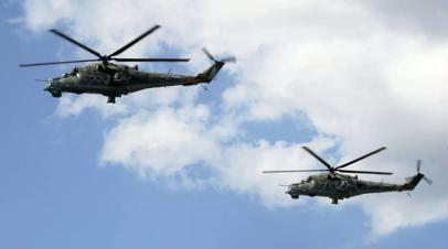 «Ростех» показал на МАКС-2019 новый боевой вертолёт Ми-24П