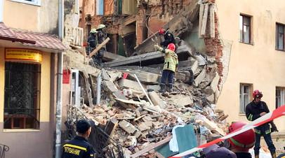 Во Львовской области возбудили дело по факту частичного обрушения дома