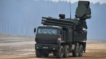 Зенитный ракетно-пушечный комплекс «Панцирь-СМ»