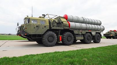 Зенитные ракетные системы С-400