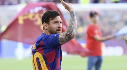 Месси признан лучшим форвардом сезона-2018/19 по версии УЕФА