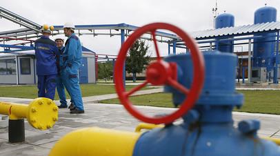 Газокомпрессорная станция на Украине