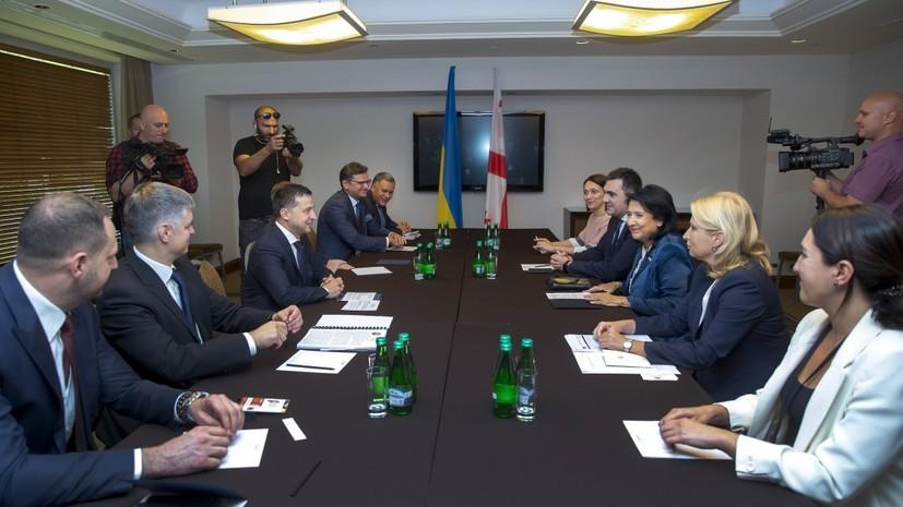 В Киеве рассказали о переговорах президентов Украины и Грузии