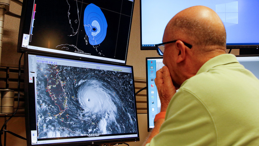 Ураган «Дориан» достиг побережья Багамских островов