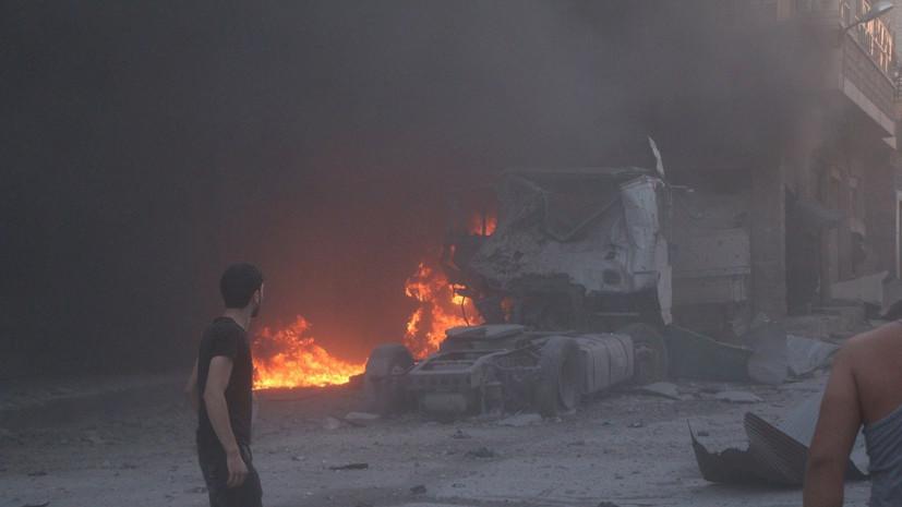 Боевики 33 раза за сутки обстреляли населённые пункты в Сирии