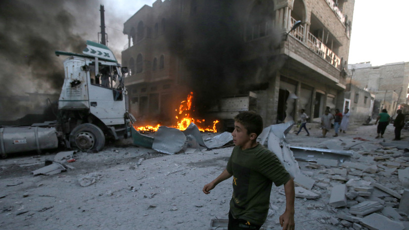 В Госдепе назвали удар США в Идлибе точечным ответом «Аль-Каиде»