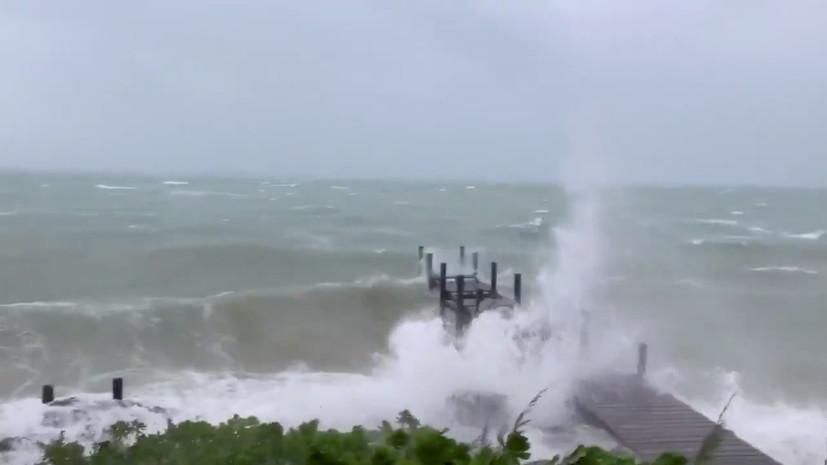 «Самый мощный за последние годы»: власти трёх штатов США объявили эвакуацию из-за урагана «Дориан»