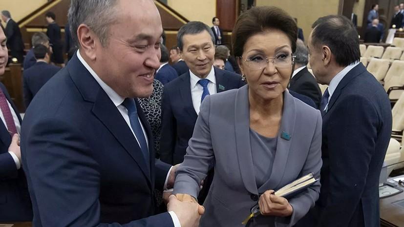 Председателем сената Казахстана избрана Дарига Назарбаева
