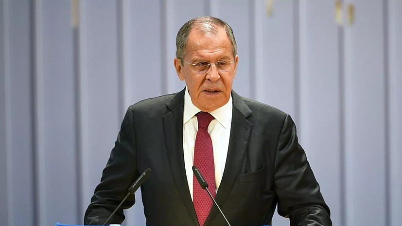 Лавров заявил о повышенном внимании Запада к интернет-ресурсам России