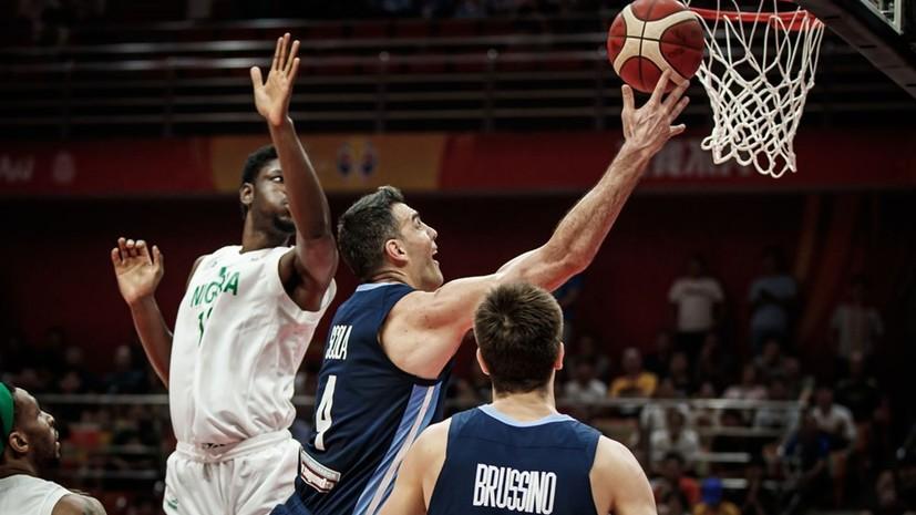 Аргентина обыграла Нигерию в матче КМ по баскетболу