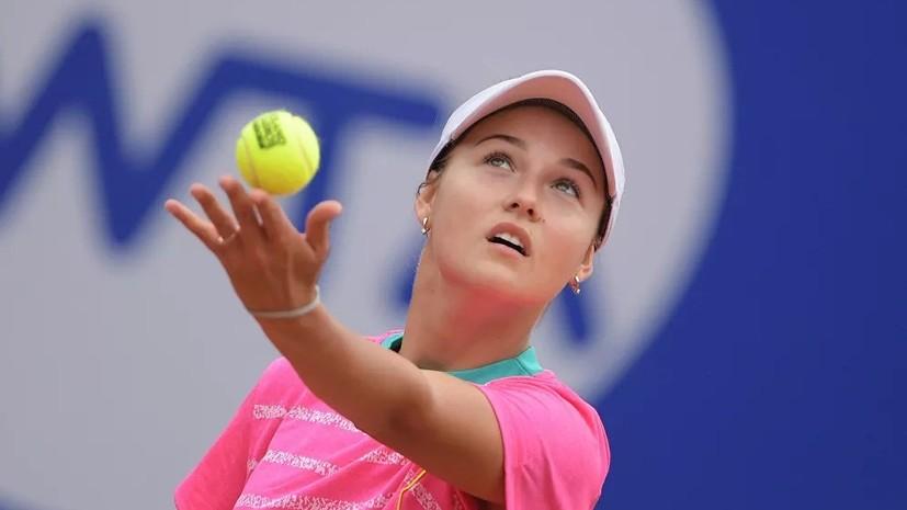 Австралиец Кирьос назвал россиянку Калинскую своей любимой теннисисткой