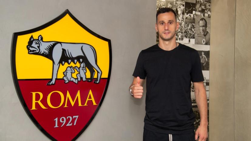 «Рома» взяла в аренду в «Атлетико» хорватского футболиста Калинича