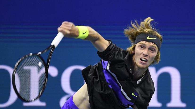 Вылет Рублёва, трюк Надаля и поражение Осаки: итоги восьмого дня US Open