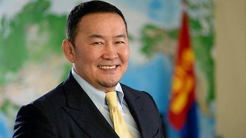 Президент Монголии посетит празднование 75-летия Победы в Москве
