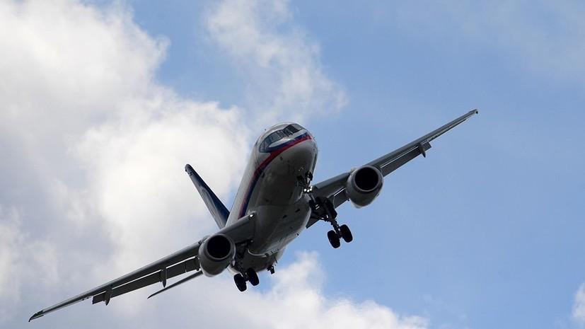 Кабмин выделил 4 млрд рублей на склад запчастей для самолётов SSJ-100
