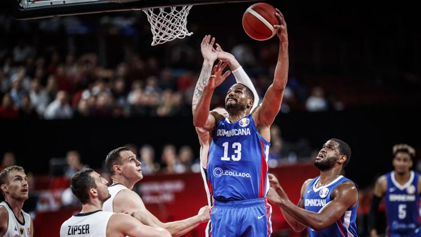 Доминиканская Республика взяла верх над Германией на КМ по баскетболу