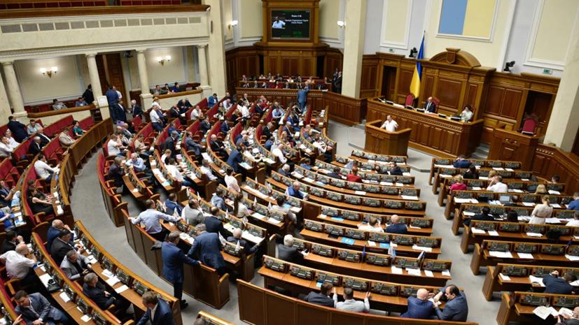 СМИ: В центре Киева подрались бывший и новоизбранный депутаты Рады