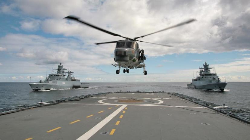 В Балтийском море начались учения НАТО