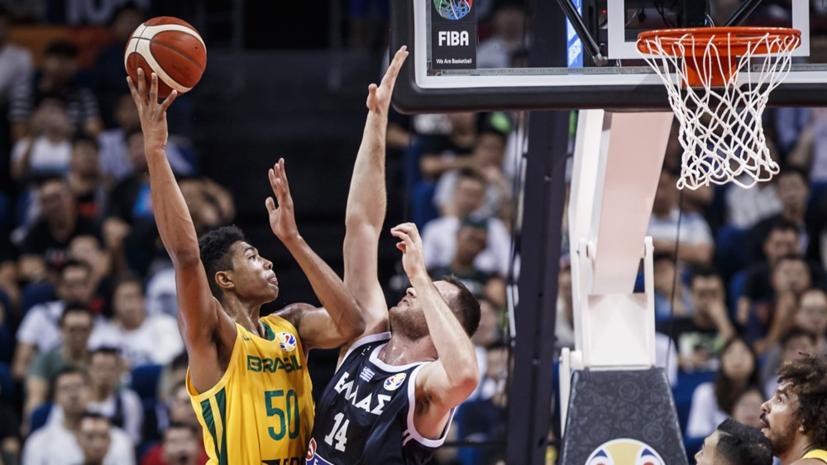 Сборная Бразилии победила команду Греции на ЧМ по баскетболу