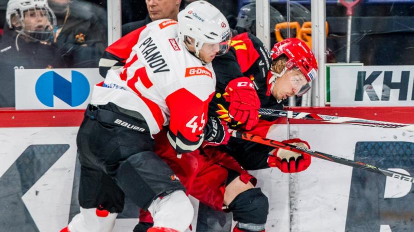 «Авангард» добыл выездную победу над «Йокеритом» в матче регулярного чемпионата КХЛ