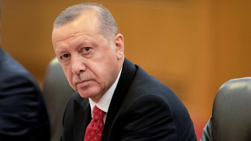 Эрдоган прокомментировал удар США по Идлибу
