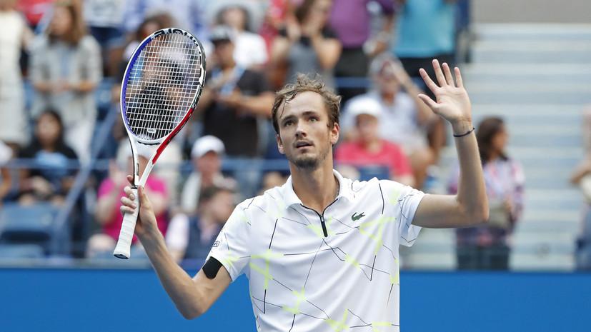 11-я победа подряд, первый полуфинал Большого шлема и извинения перед фанатами: как Медведев победил Вавринку на US Open