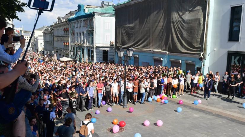 Суд вынес приговор ещё одному фигуранту дела о беспорядках в Москве
