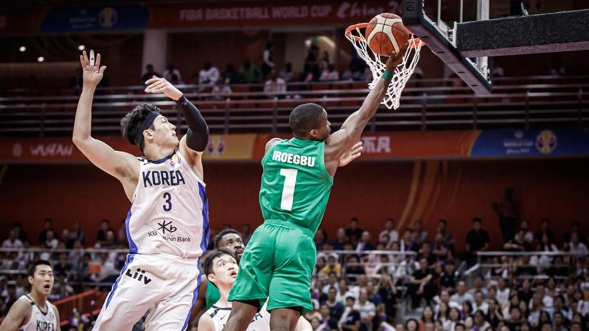 Нигерия разгромила Южную Корею на КМ по баскетболу