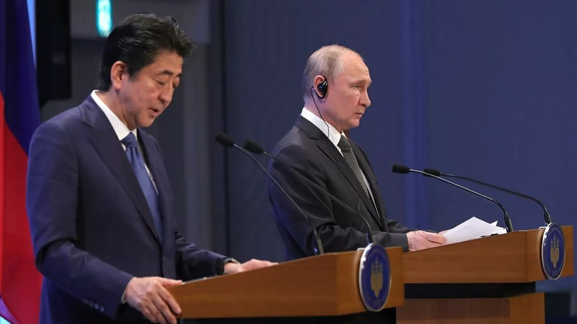 Абэ заявил о безграничных возможностях отношений России и Японии