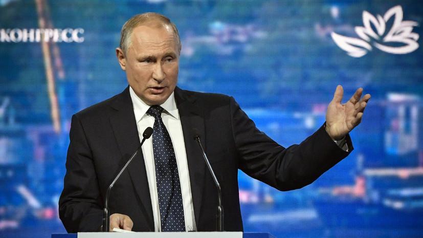 Путин пообещал, что Россия произведёт запрещённые прежде ДРСМД ракеты