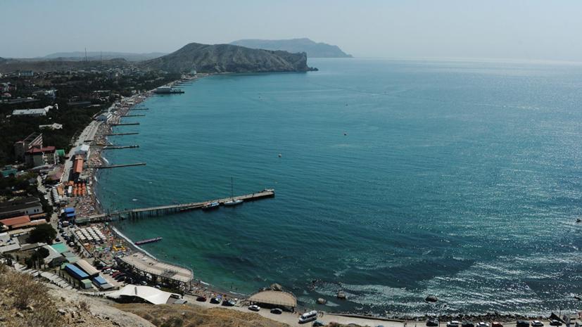 Прогулочный катер затонул в Крыму