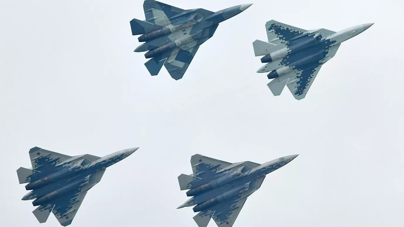 Лётчик-испытатель поделился впечатлениями от полёта на Су-57