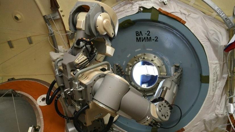 Названа дата возвращения робота FEDOR на Землю