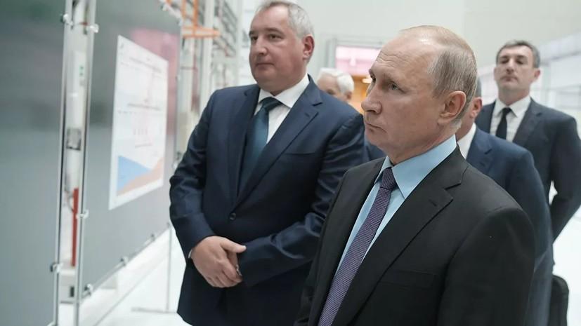 Путин поручил выдержать сроки строительства космодрома Восточный