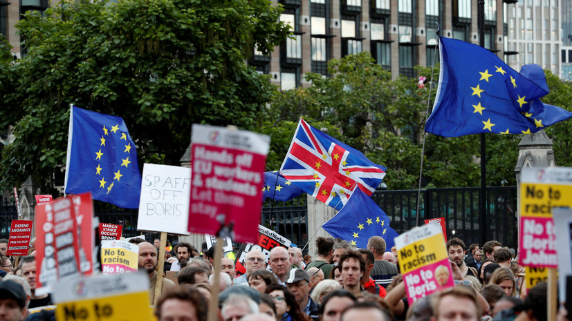 В Британии одобрили законопроект об отсрочке брексита