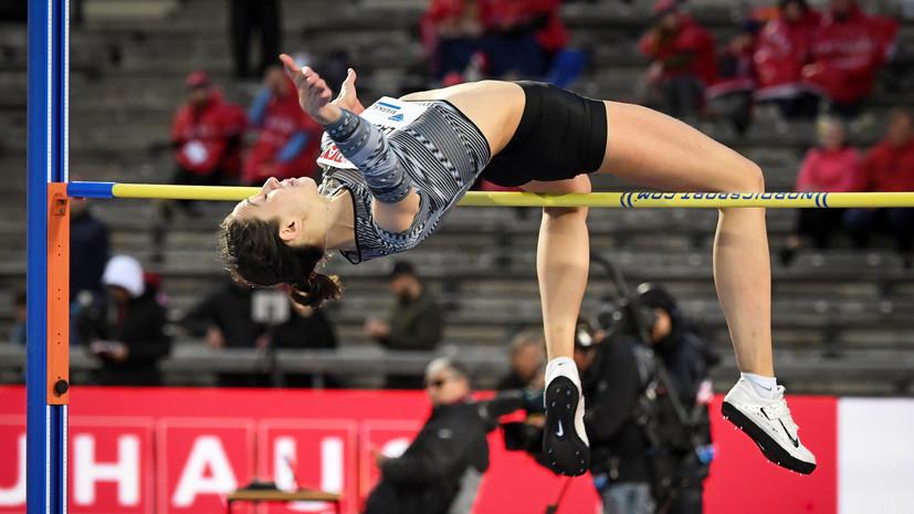 Прыгунья Левченко выиграла «серебро» на заключительном этапе «Бриллиантовой лиги»