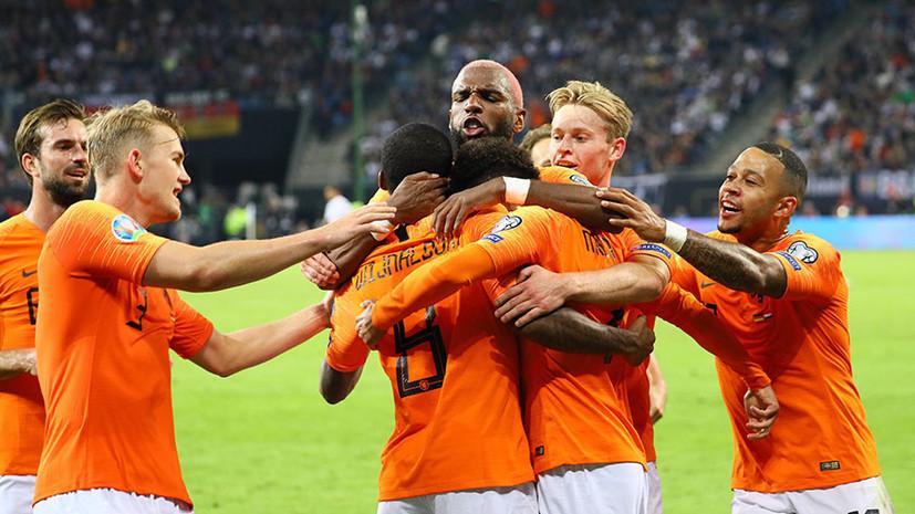Победа Белоруссии, ничья Казахстана и поражение Германии от Нидерландов: обзор матчей квалификации Евро-2020