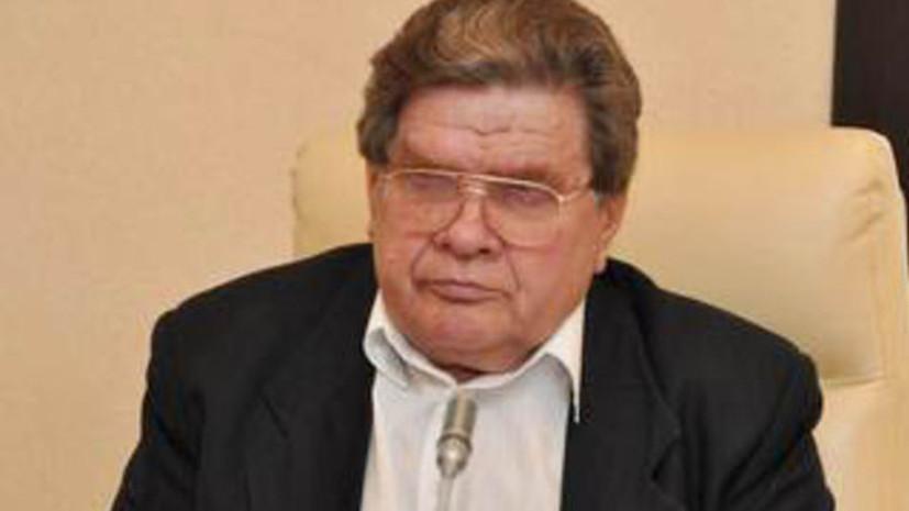 Умер бывший губернатор Приамурья Анатолий Белоногов
