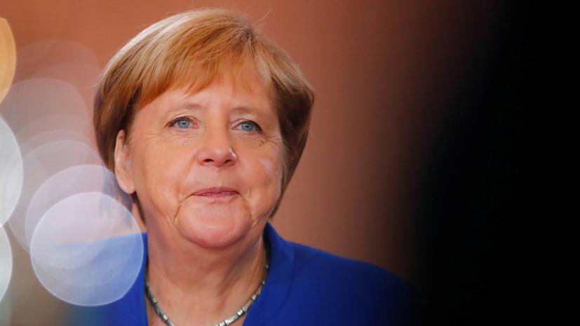 Меркель назвала подающим надежду знаком обмен между Москвой и Киевом
