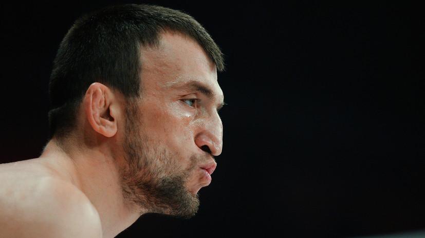 Российский боец Салихов нокаутировал Талеба на UFC 242