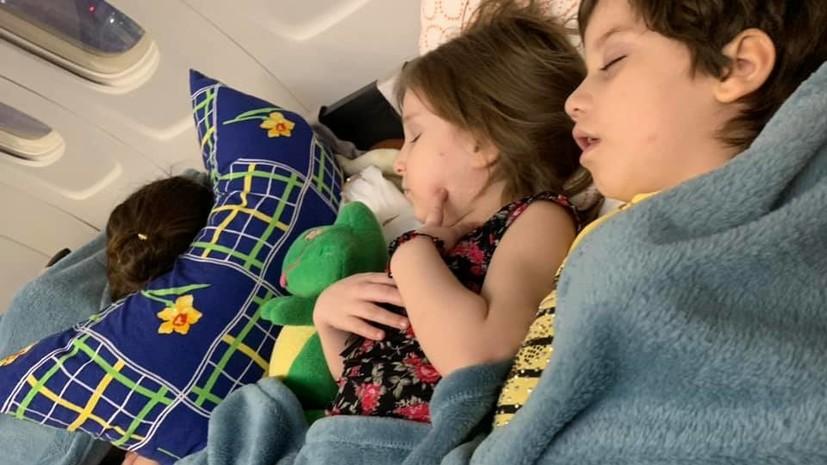 Врачи: проблем со здоровьем у вернувшихся из Сирии детей не обнаружено